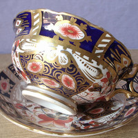 Antique Hammersley & co English imari tea cup and by ShoponSherman