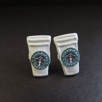 Cappuccino Earrings by smhapenrod on Etsy