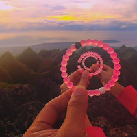Rose Red Color Lokai Bracelet for a balanced life