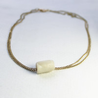 Double Strand Tube Necklace