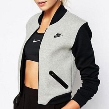 """NIKE"" Zip Cardigan Jacket Coat"