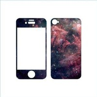 iPhone Galaxy Skin for 4 or 4s (M) Wall Saying Vinyl Lettering Home Decor Decal Stickers Quotes
