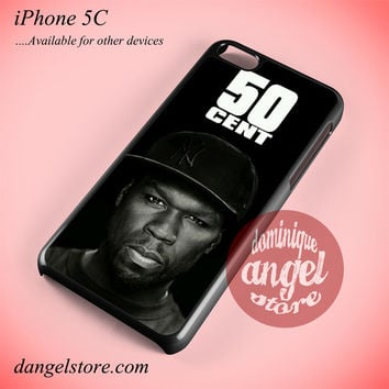 50 Cent Face Phone case for iPhone 5C and another iPhone devices