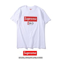 Cheap Women's and men's supreme t shirt for sale 501965868-0133