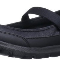 Skechers Performance Women's Go Walk Legacy Flat,Black,7 M US