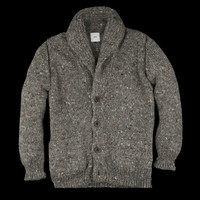 UNIONMADE - ts(s) - Shawl Collar Cardigan in Grey