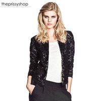 Sequin Mini Blazer