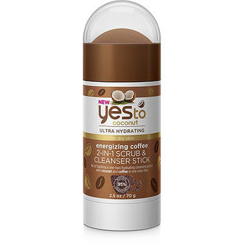 Coconut Energizing Coffee 2-in-1 Scrub & Cleanser Stick