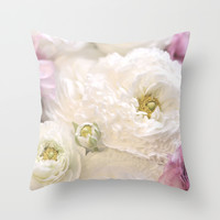 Angel Lace Throw Pillow by Lisa Argyropoulos | Society6