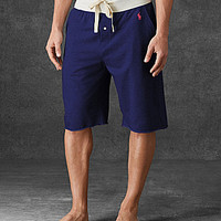 Polo Ralph Lauren French Terry Pajama Shorts - Andover Heather
