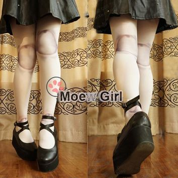 Lolita Girl Harajuku Tights Halloween Punk BJD Dollfie SD Pullip Ball Jointed Zombie Doll Tights