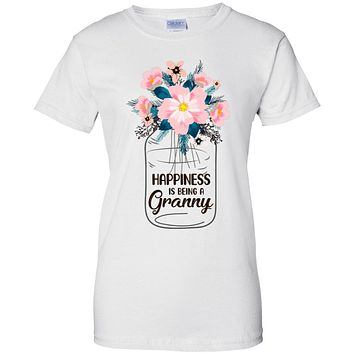 Happiness Is Being Granny Life Flower Granny Gifts