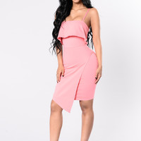 A Real One Dress - Spring Blush