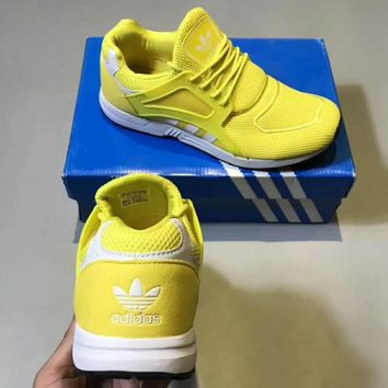 Adidas Racing Man Sneakers Running Sports Shoes yellow H-CSXY