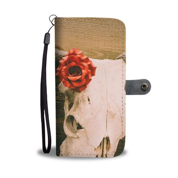 Long Horn Phone Wallet Case