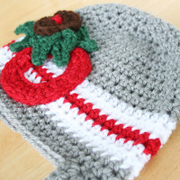 Ohio State Buckeyes Hat, toddler crochet hat, crochet hat for kids, Buckeyes hat for kids, 12 month to 4T sizes available