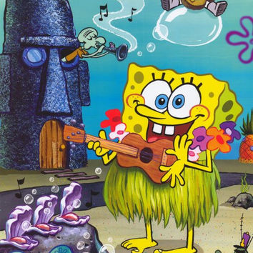 SpongeBob SquarePants 11x17 TV Poster (2003)
