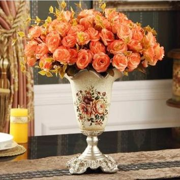 Flower vase Home Furnishing decorative crafts Christmas decoration and wedding decoration