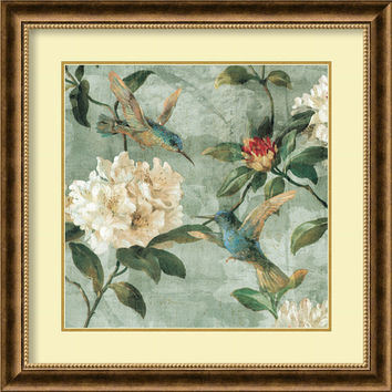 Amanti Art DSW982461 Birds of a Feather I by Renee Campbell: 28.75 x 28.75 Print Reproduction