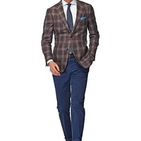 Jacket Brown Check Havana C748 | Suitsupply Online Store