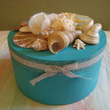 TIFFANY BLUE Style Jewelry Box