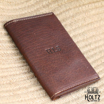 The Pioneer Fine Leather Passport Wallet Passport Cover