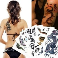 Supperb® Mix Dragons Temporary Tattoo / 6-pack