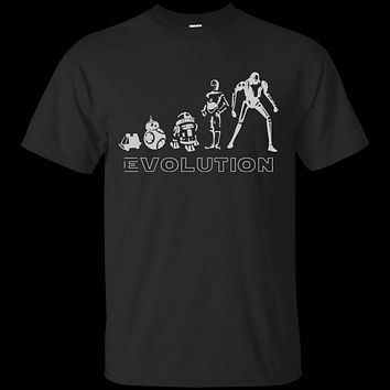 Star war t shirt - Robot Evolution Space War in the Stars Graphic Funny Parody G200 Gildan Ultra Cotton T-Shirt