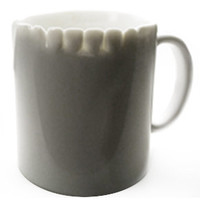 Teeth Mug by Lee Weilang