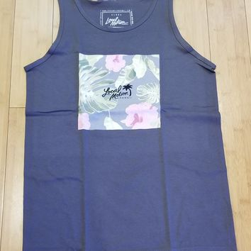 """Local Motion """"Evergreen"""" Mens Charcoal Tank Top"""