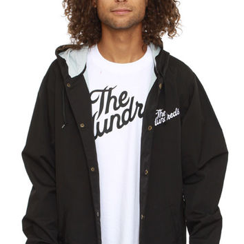 The Hundreds, Slant Hooded Coaches Jacket - Black