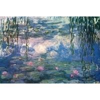(24x36) Claude Monet (Nympheas) Fine Art Print Poster