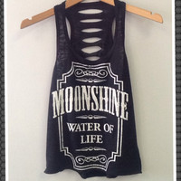 TANK TOP- MOONSHINE