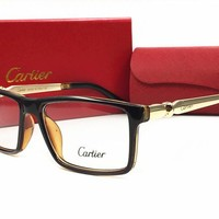 Cartier sunglass AA Classic Aviator Sunglasses, Polarized, 100% UV protection [2974244854]