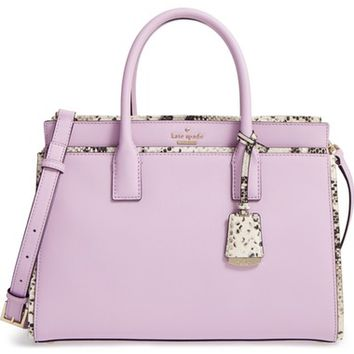 kate spade new york cameron street candace leather satchel | Nordstrom