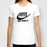 Coffee T-shirt by Hand Drawn Type