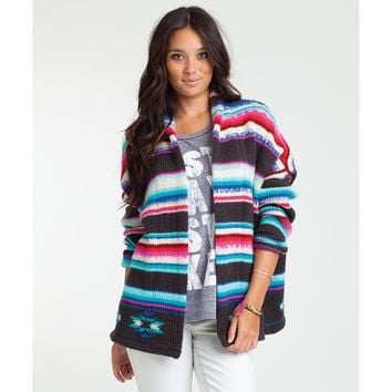 Billabong Women's Eye Spy Waves Cardigan Multi