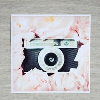 circle of the roses print by Simply Hue