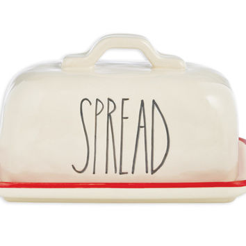 Spread Butter Dish by Rae Dunn