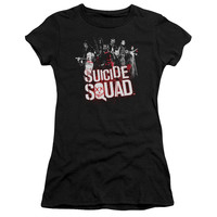 Suicide Squad Splatter Juniors T-Shirt/Tank Top