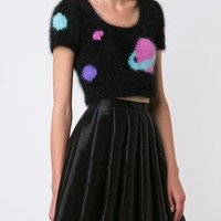 Jeremy Scott Cropped Knit Top - Traffic Los Angeles - Farfetch.com