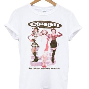 Clueless Custom Men's Gildan Adult T-Shirt