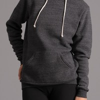 Alternative Apparel Eco-Fleece Hoody - Black