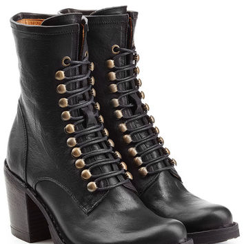 Leather Lace-Up Boots - Fiorentini + Baker | WOMEN | US STYLEBOP.COM