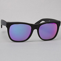 Super Sunglasses The Basic Wayfarer Sunglasses in Black Rainbow Lens : Karmaloop.com - Global Concrete Culture
