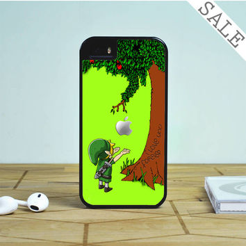 Link Legend of Zelda and Giving tree apple For iPhone | Samsung Galaxy | HTC Case