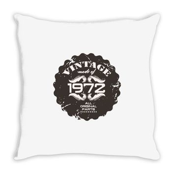 vintage made of 1972 all original parts Throw Pillow