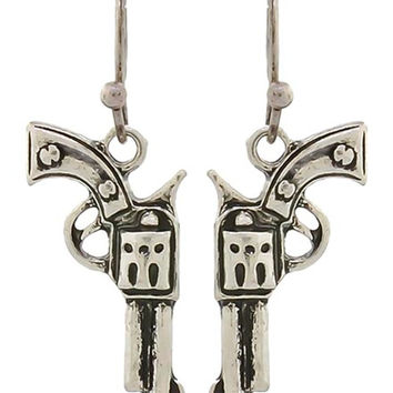 Dangly Gun Earrings