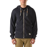Vans Core Basic Zip Hoodie (Black Heather)
