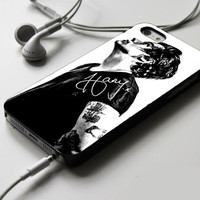 Harry Styles Black And White 2 iPhone 4 Case Sintawaty.com